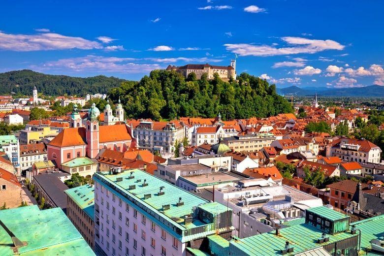 Die slowenische Hauptstadt
