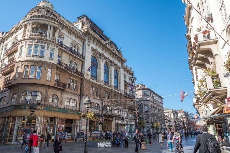 Belgrade Knez Mihailova Street