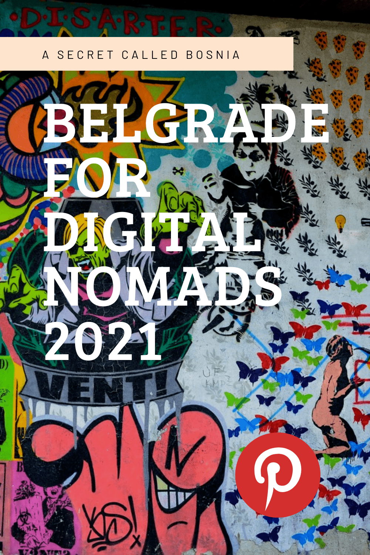 Belgrade Pintereest pin