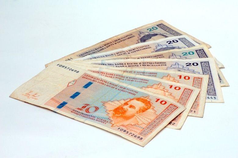 Bosnien Geld