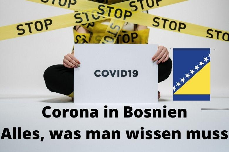 Bosnien Corona