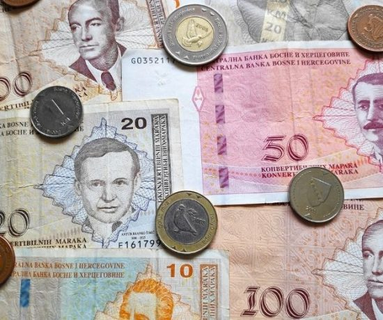 Die Währung Bosnien - Die Konvertible Mark