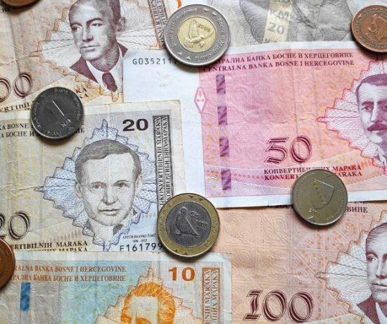 die bosnische Währung