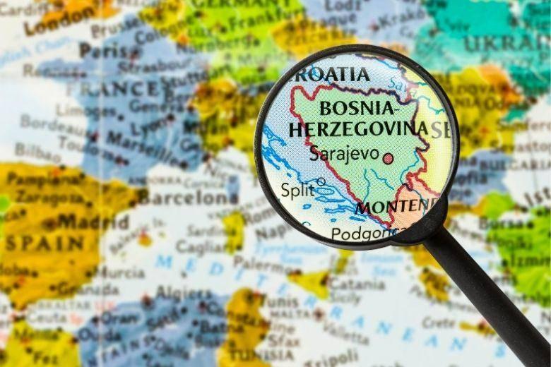 Mit dem Auto nach Bosnien