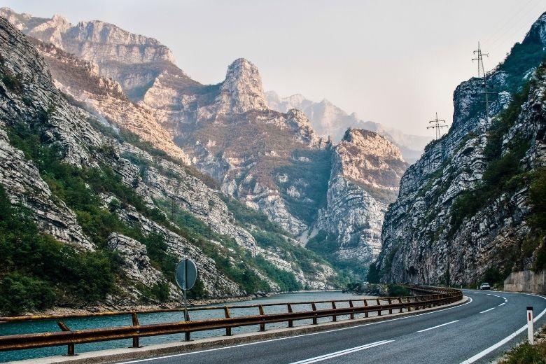 Straßen in Bosnien