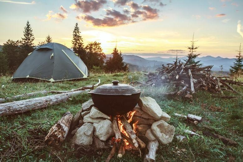 Wild Camping in Bosnien